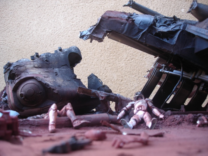 the gunship destroyed after the Battle of Geonosis ah ah :) Dsc08624