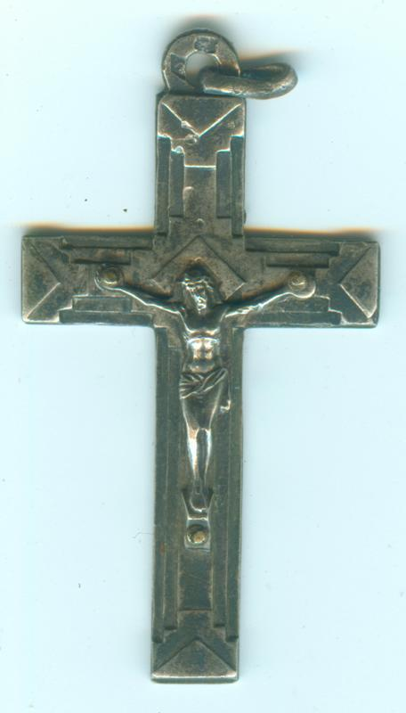 croix en argent XXe,s Croix011