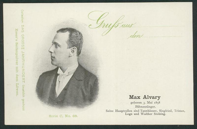 Sammlung Persönlichkeiten des 19. Jahrhunderts Alvary10