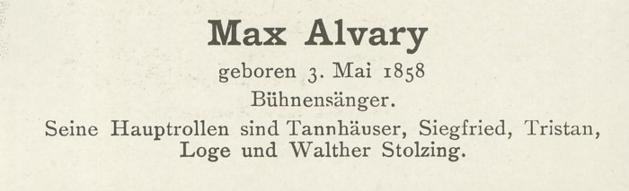Sammlung Persönlichkeiten des 19. Jahrhunderts Alvary11