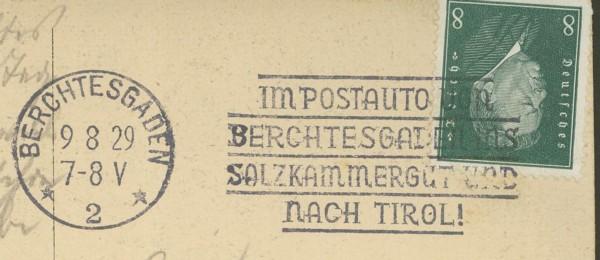 Maschinenwerbestempel - Deutsches Reich Bercht10