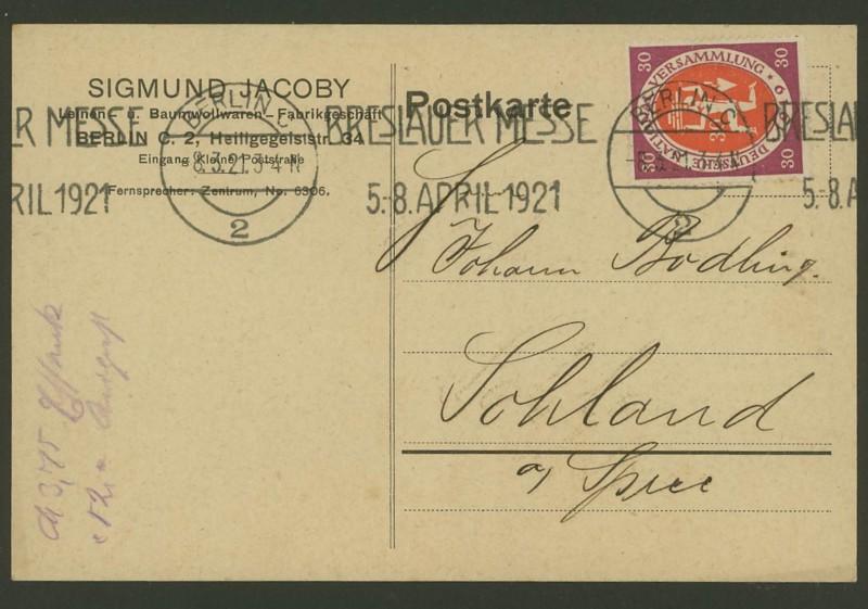 Reizvolle Briefe des Deutschen Reichs Berlin10