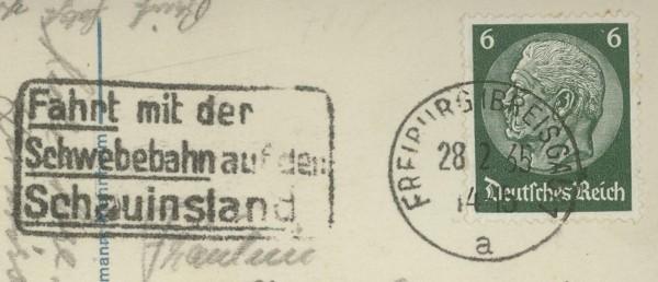 Maschinenwerbestempel - Deutsches Reich Freibu10