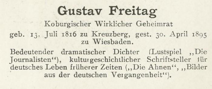 Sammlung Persönlichkeiten des 19. Jahrhunderts Freita11