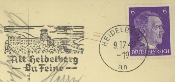 Maschinenwerbestempel - Deutsches Reich Heidel10