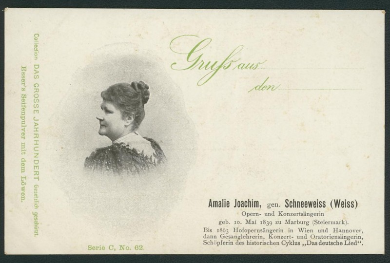 Sammlung Persönlichkeiten des 19. Jahrhunderts Joachi10