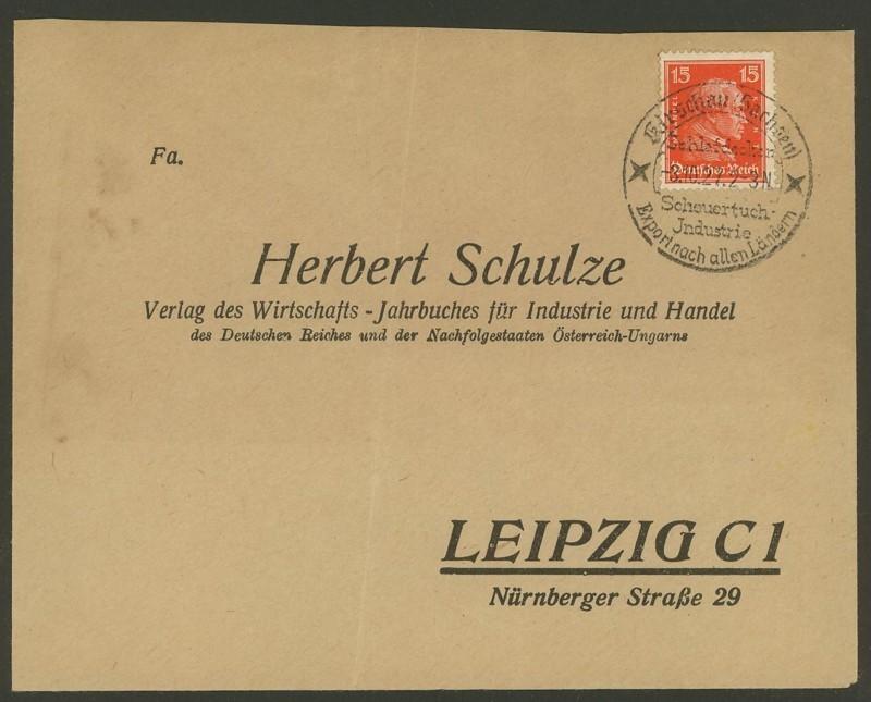 Reizvolle Briefe des Deutschen Reichs Kirsch10