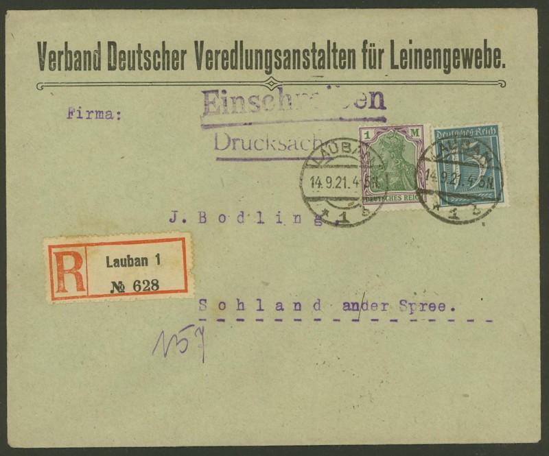 Reizvolle Briefe des Deutschen Reichs Lauban10