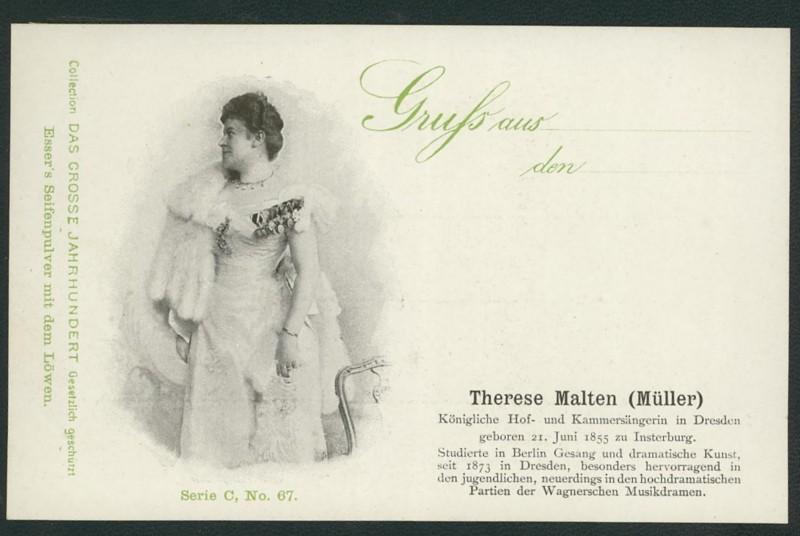 Sammlung Persönlichkeiten des 19. Jahrhunderts Malten10
