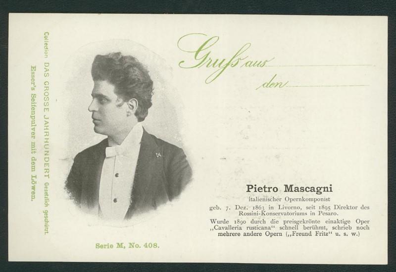 Sammlung Persönlichkeiten des 19. Jahrhunderts Mascag10