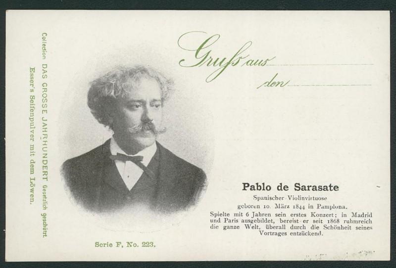 Sammlung Persönlichkeiten des 19. Jahrhunderts Sarasa10