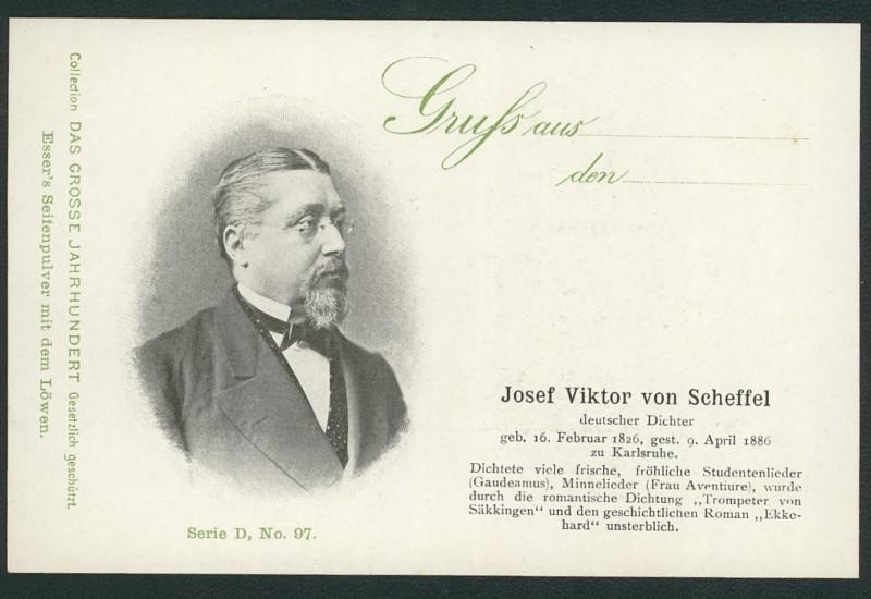 Sammlung Persönlichkeiten des 19. Jahrhunderts Scheff10