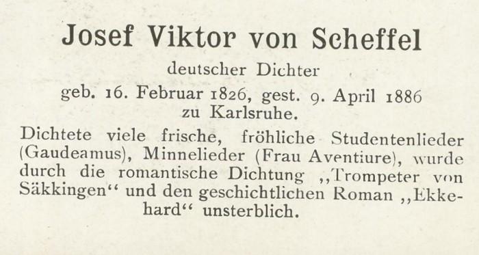 Sammlung Persönlichkeiten des 19. Jahrhunderts Scheff11