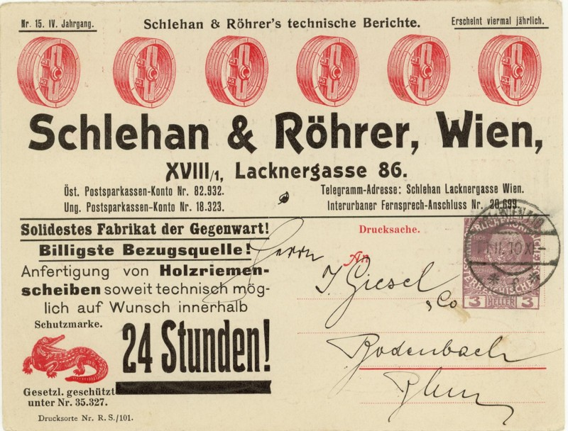Private Ganzsachen-Postkarten Schleh10