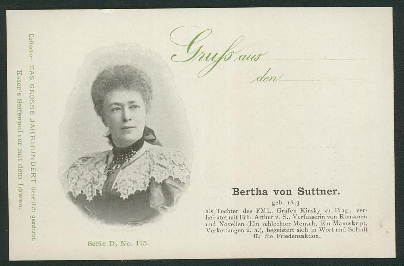 Sammlung Persönlichkeiten des 19. Jahrhunderts Suttne10