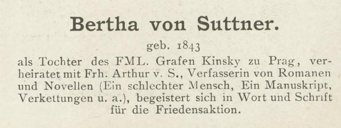Sammlung Persönlichkeiten des 19. Jahrhunderts Suttne11