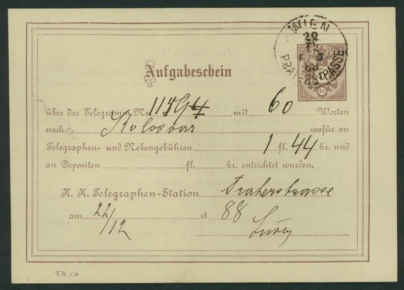 Suche Ganzsachen Österreich Ta_1710