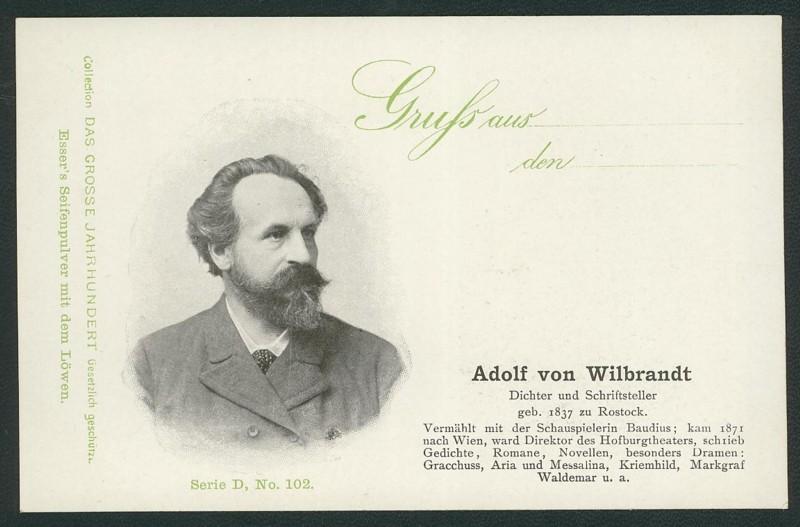 Sammlung Persönlichkeiten des 19. Jahrhunderts Wilbra10