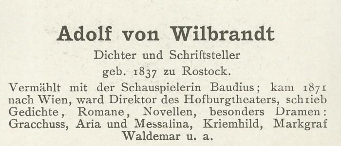 Sammlung Persönlichkeiten des 19. Jahrhunderts Wilbra11