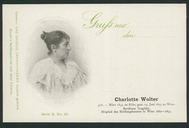 Sammlung Persönlichkeiten des 19. Jahrhunderts Wolter10