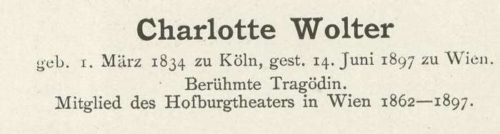Sammlung Persönlichkeiten des 19. Jahrhunderts Wolter11