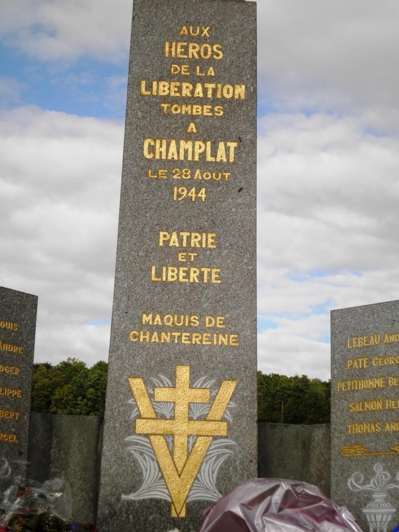 Le Maquis de CHAMPLAT & la Tragédie de la Ferme de CHANTEREINE P8300119