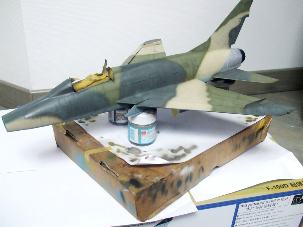 F 100-D TRUMPETER 1/32 - Page 3 Camo_f13