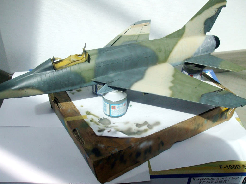 F 100-D TRUMPETER 1/32 - Page 3 Camo_f15