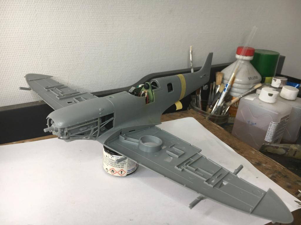 Spitfire MKVb trop  hobbyboss 1/32  Fermet13