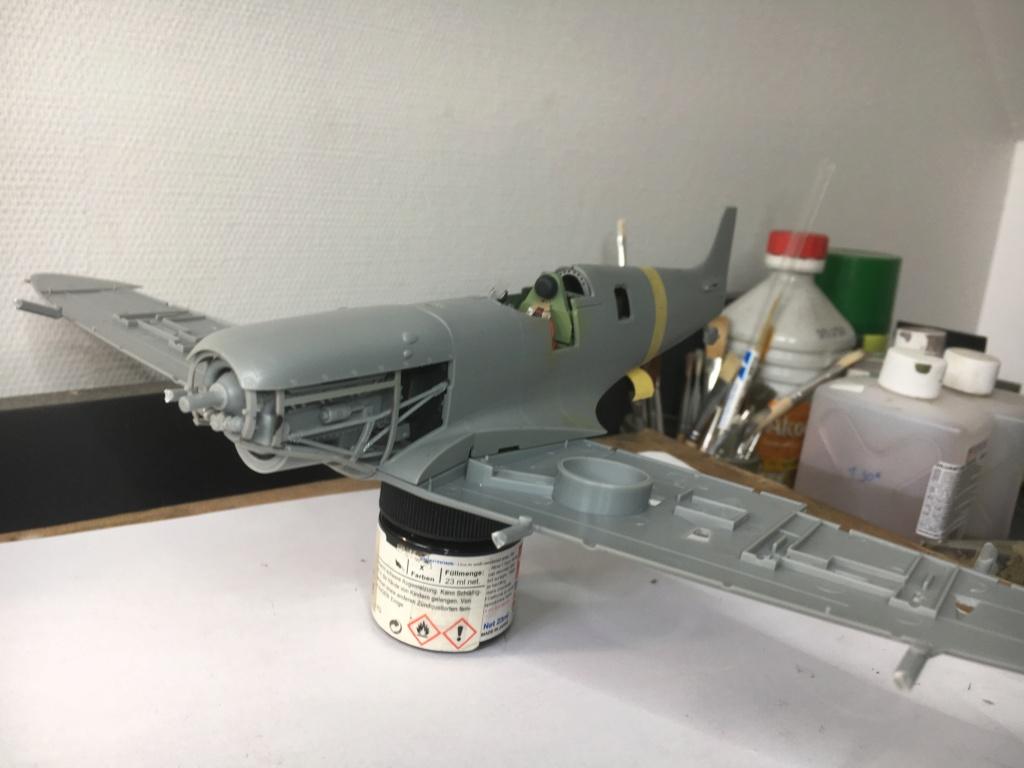 Spitfire MKVb trop  hobbyboss 1/32  Fermet14