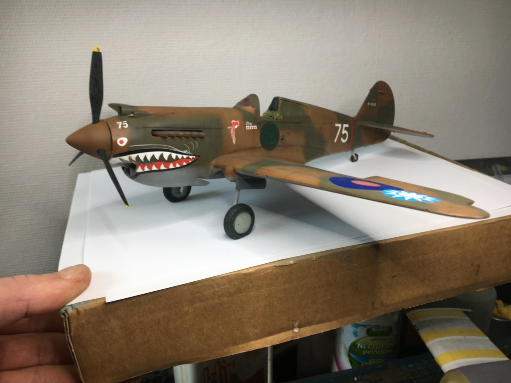 P40 B  trompette 1/32  - Page 4 Helice12
