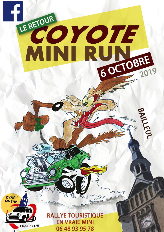 Coyote Mini Run: Le retour Affich11