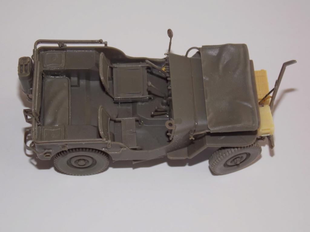 jeep indochine - Jeep BRONCO et decor MINIART 1/35  TERMINE Dscn7411