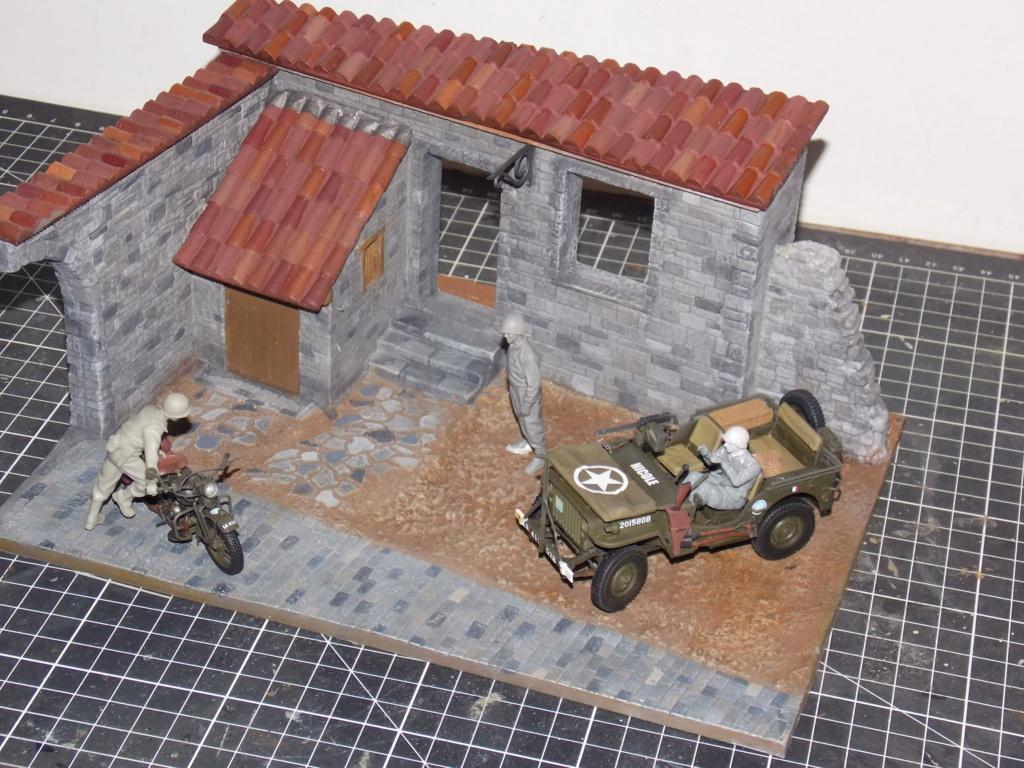 Jeep BRONCO et decor MINIART 1/35  TERMINE - Page 2 Dscn7415