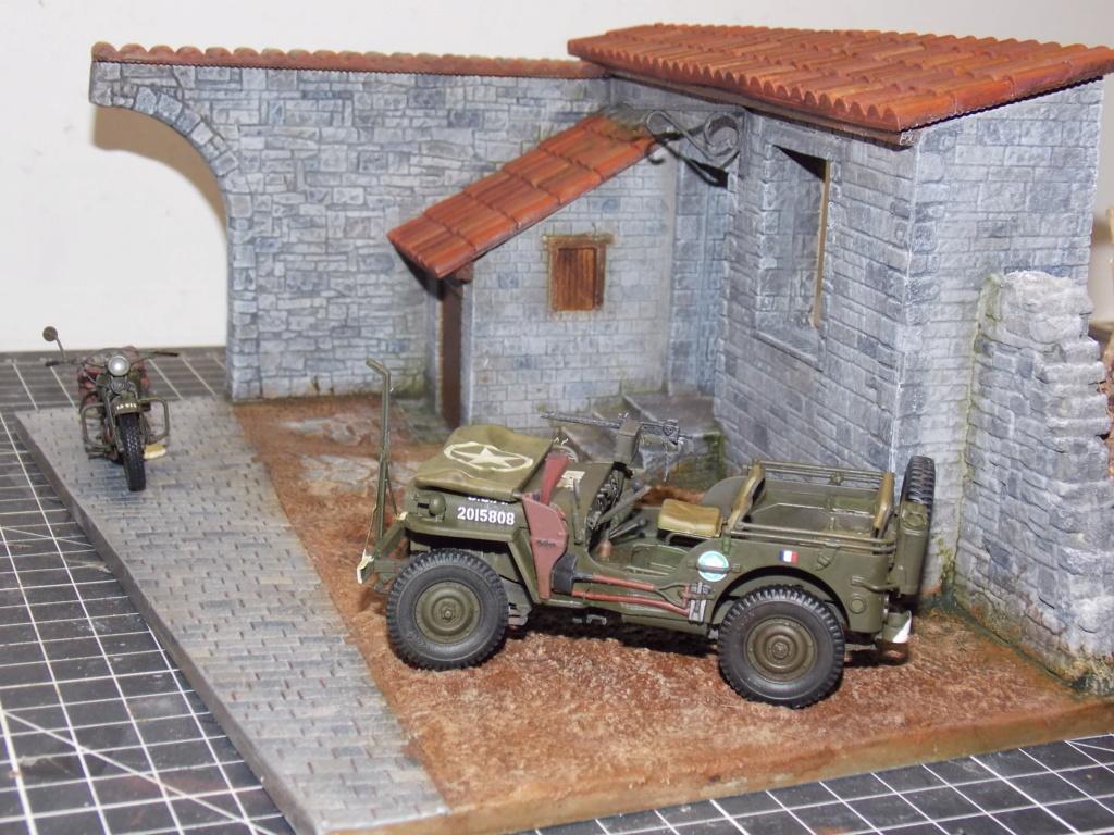 jeep indochine - Jeep BRONCO et decor MINIART 1/35  TERMINE Dscn7416