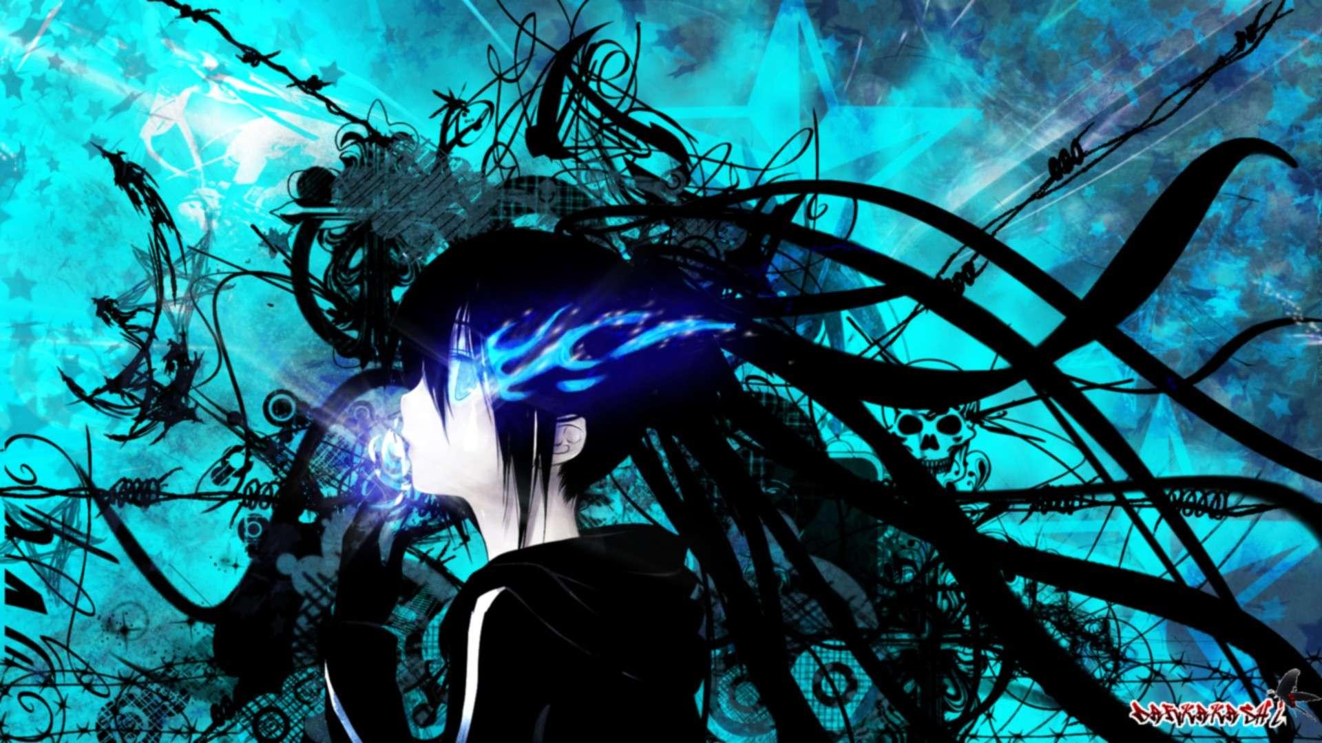 Darkakashi ' art Black-12