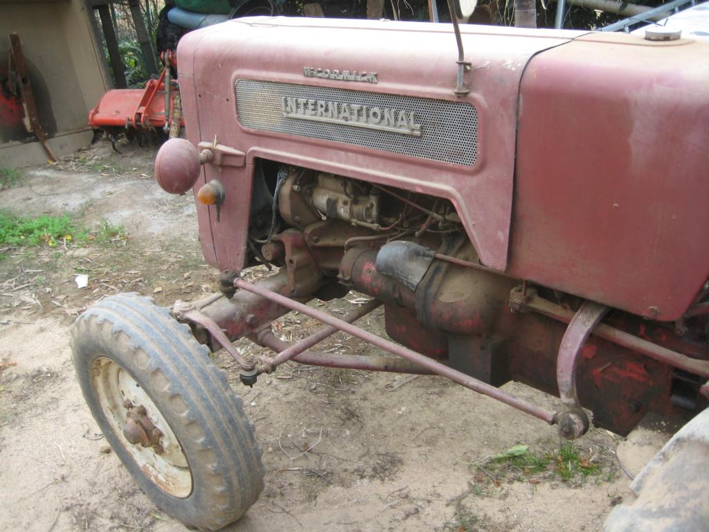 He comprado un International-Harvester B 414 Diesel de 1964. Img_9514