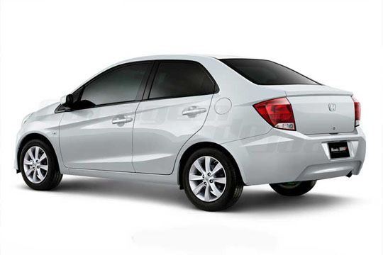 Honda Brio sedan to be launched in 2013 Honda_11