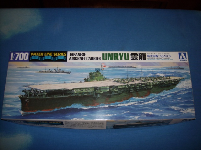 Porte-avions IJN Unryu 1/700 - Aoshima Spa51932