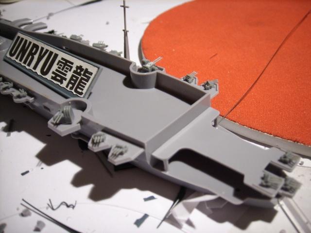 Porte-avions IJN Unryu 1/700 - Aoshima - Page 2 Spa51956