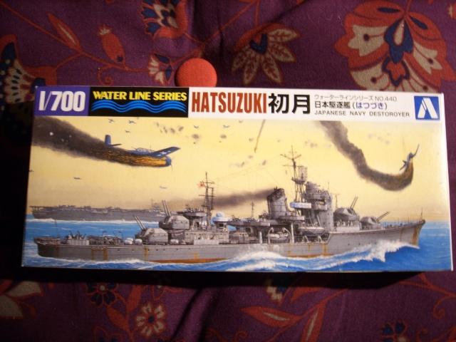 Destroyer IJN HATSUZUKI par marmeus au 1/700 - Aoshima  Spa52025