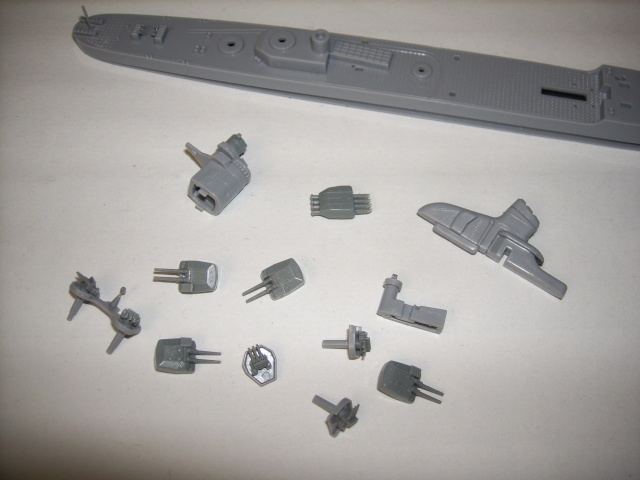 Destroyer IJN HATSUZUKI par marmeus au 1/700 - Aoshima  Spa52027