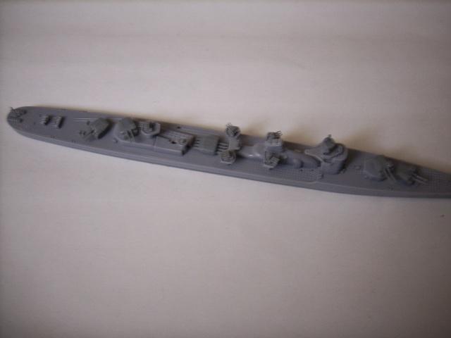 Destroyer IJN HATSUZUKI par marmeus au 1/700 - Aoshima  Spa52028