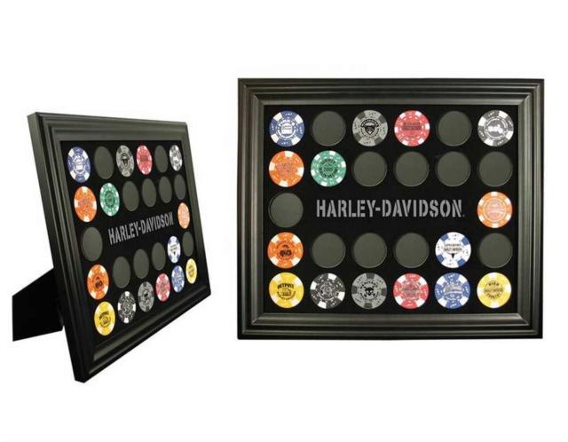 Tableau Poker Chip Harley S-l16011