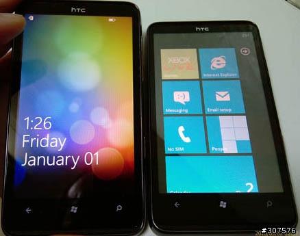 WP7 - HTC sous WP7, les modèles en Octobre Mobile10