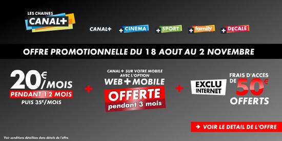 Offres Canal+ et CanaSat sur Bbox TV Canalp10