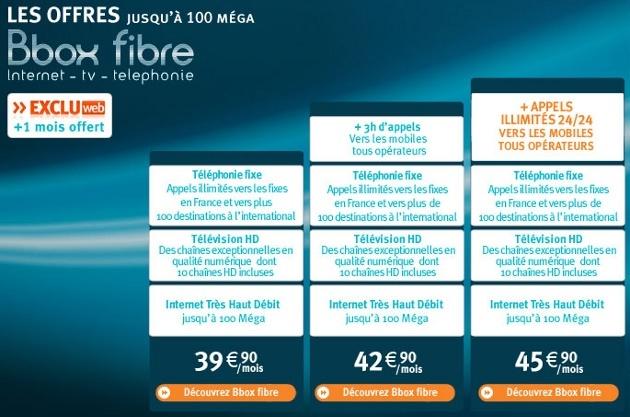 Appels mobiles illimités disponibles pour la Bbox Offres10