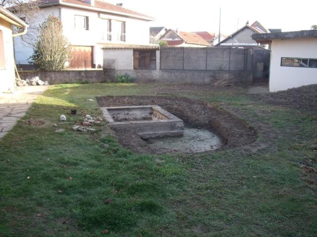 Construction d'un bassin d'environ 16000L 710