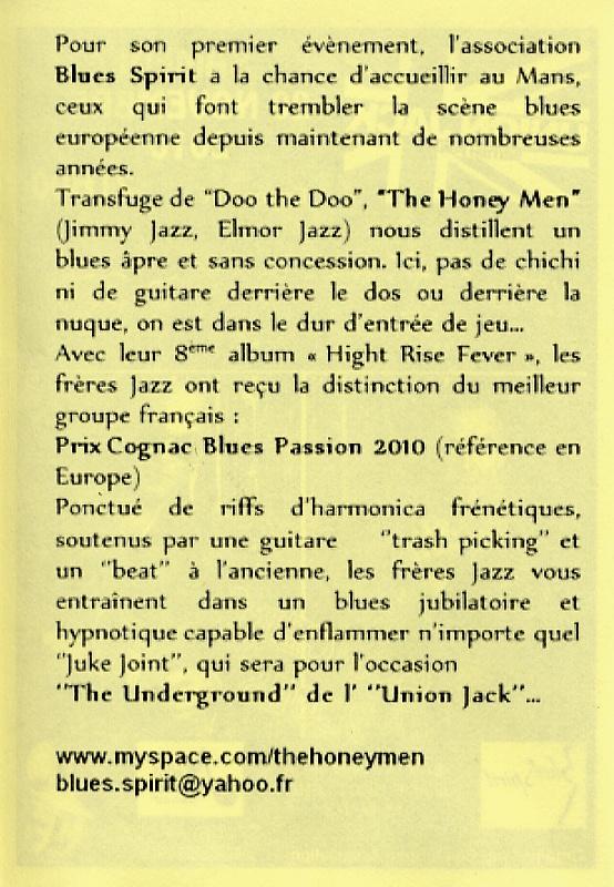 The Honeymen au Mans le 20 novembre File0011