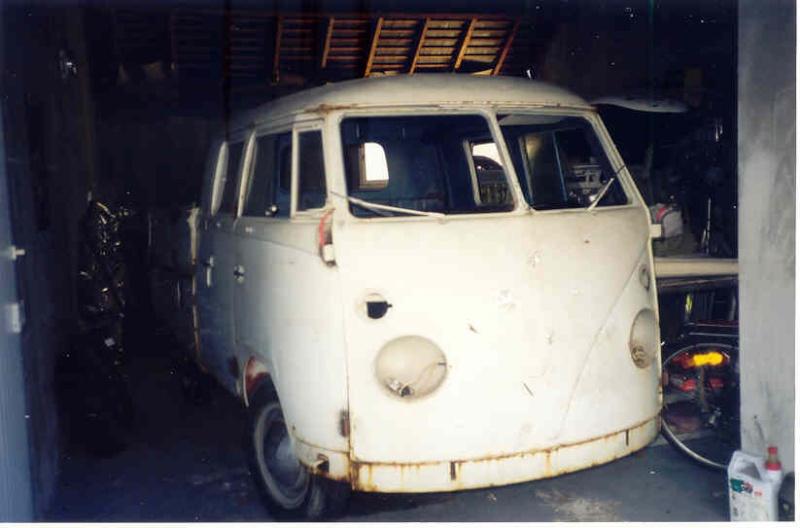 Crew cab 1962 Dove blue Combi211
